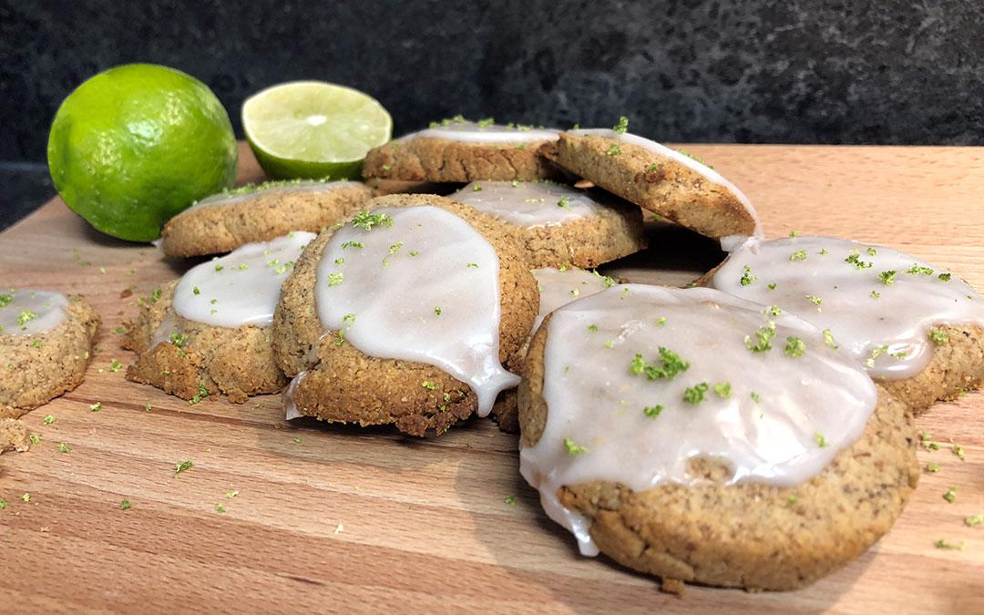 Erdmandel-Caipi-Kekse