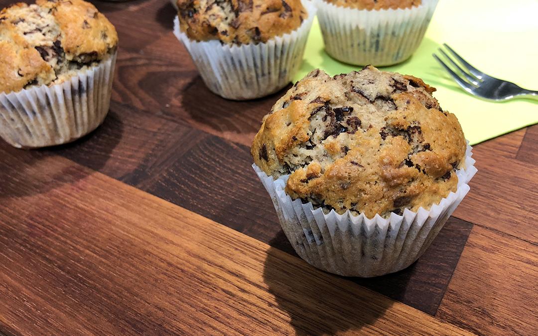 Erdmandel-Schoko-Muffins